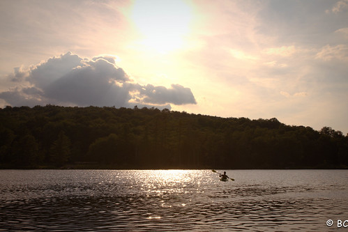 sunset lake ny water landscape boat kayak upstate 7d tamron1750