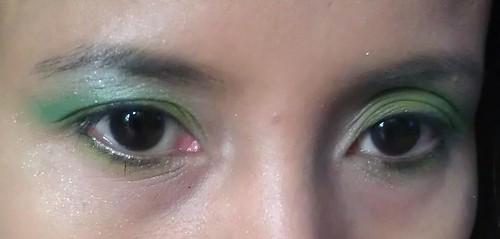 I love my green eyes #eyeshadow makeup