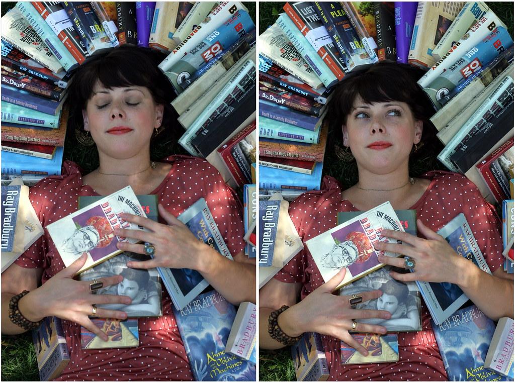 bradbury book halos