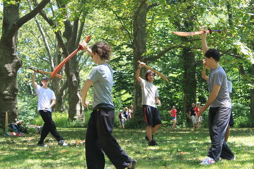New York - Central Park - Broad Sword Practice