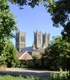 Lincoln Cathedral from Westgate