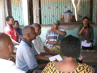Water supply and sanitation focus groups discussion