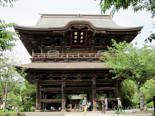 Sanmon Gate at Kencho-Ji Zen Temple - Kamakura, Japan  Flickr - Photo Sharing!