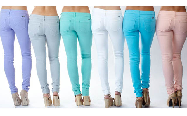 colored jeans, fair vanity fair trade, recycled cotton, tuesday trend