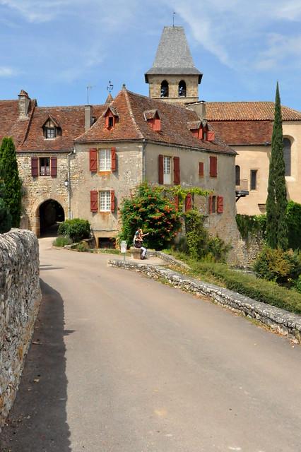 Loubressac , l'un des plus beaux village de France .