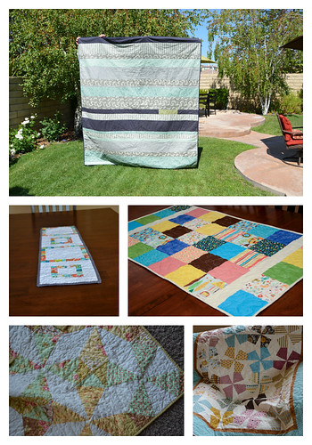 Completed quilts by July 2012
