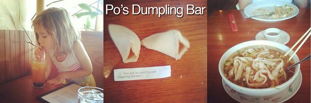 Po's Dumpling Bar