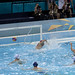 Water Polo - ball goes behind