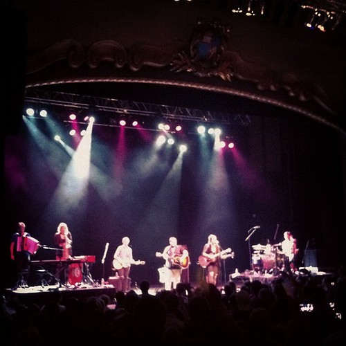 Of Monsters and Men were amazing, truly impeccable (though late starting) #maine #statetheatre #concert #music