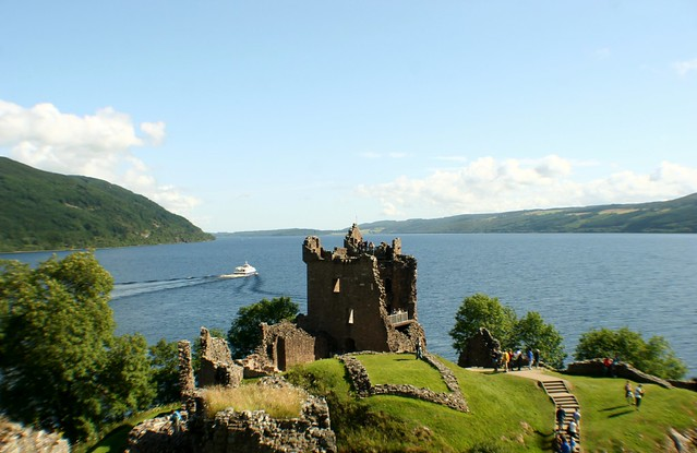 Castle Urquhart and Loch Ness, Scottish Highlands