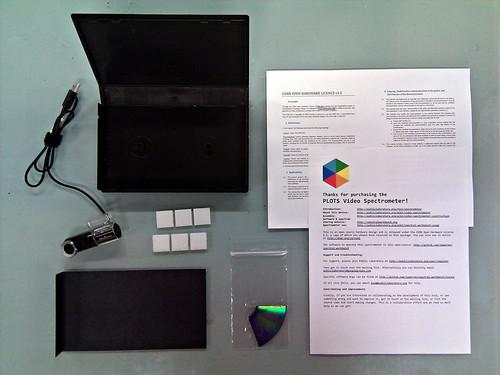 Spectrometer kit