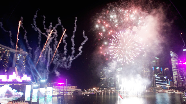 NDP 2012 NIGHT FIREWORKS