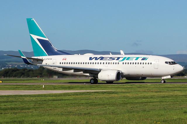 C-FWSK Boeing 737-700 WestJet