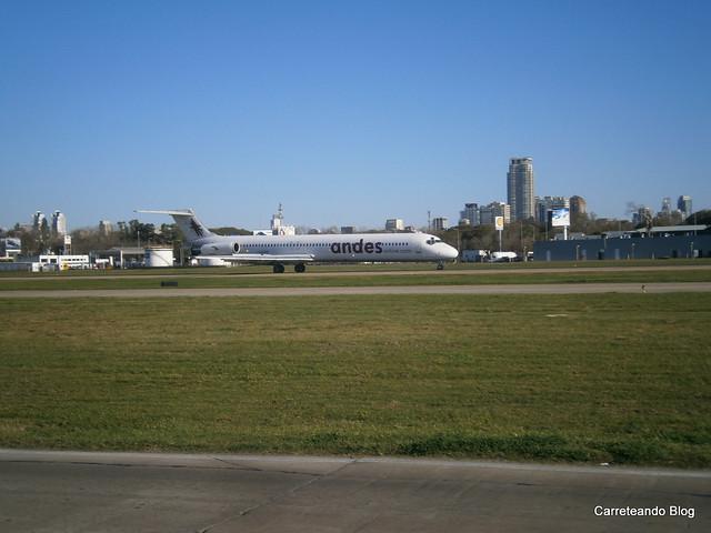 MD-83 LV-AYD de Andes