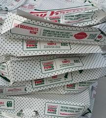 Fund raising with Krispy Kreme Donuts!