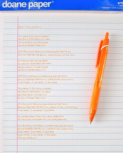 Uni-ball Jetstream Color Series 0.5 mm Orange