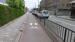 Bicycle Lane Sanjo Kyoto
