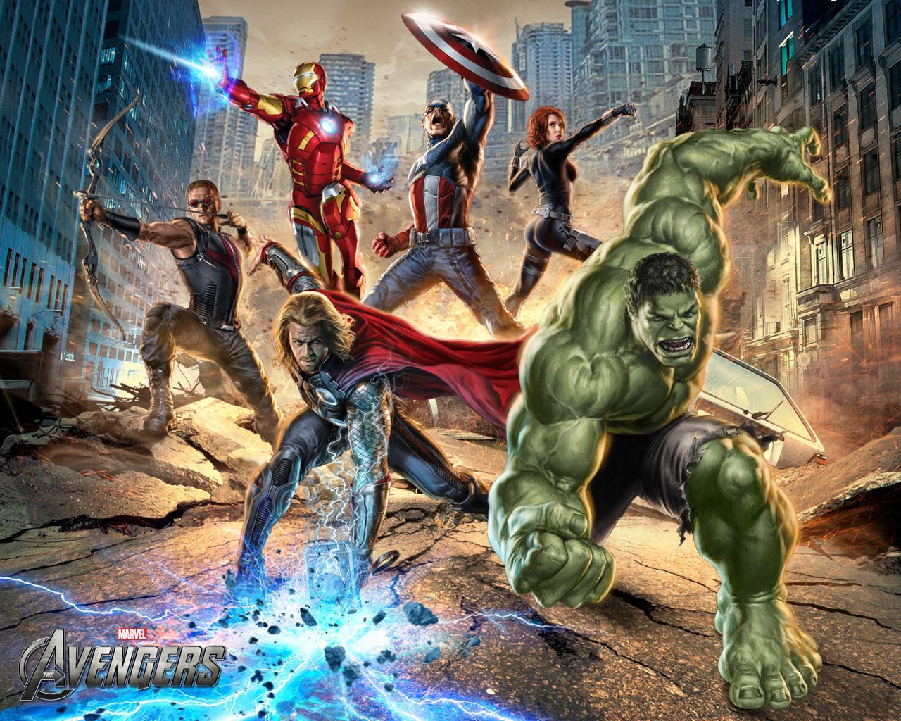 The Avengers movie art - Flickr - Photo Sharing!