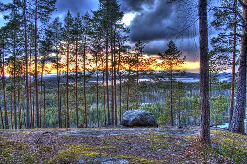 sunset mountain rain canon eos rebel mount rainy t3 hdr 1100d hyyppää