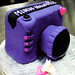 Purple DSLR Camera