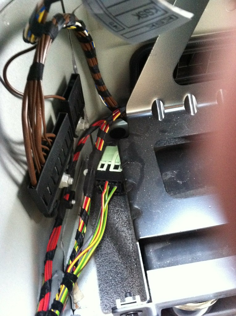 Pictorial DIY - E60 Trunk Electronics Relocate - Bimmerfest - BMW Forums