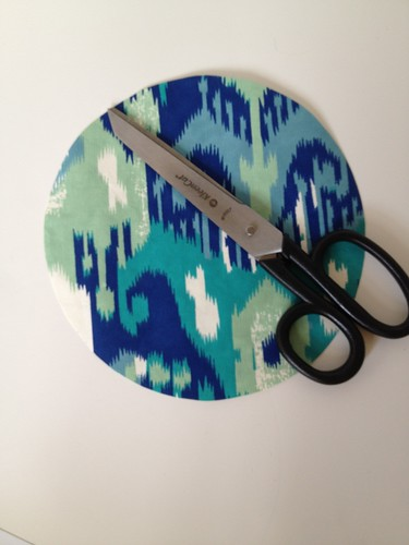 4b - Decorative Wrapping Paper Clock Tutorial