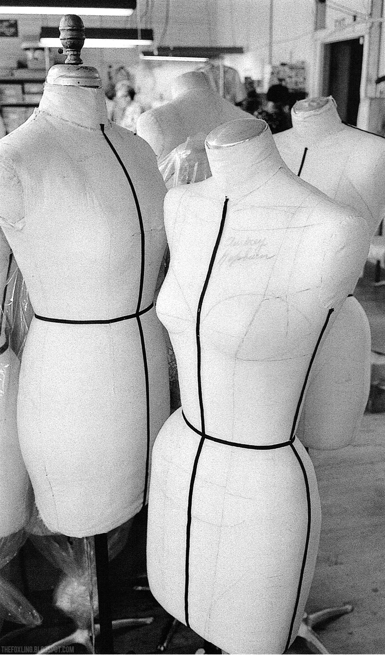 Audrey Hepburn's Dress Mannequin