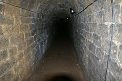bunker, subway, air-raid shelter, infrastructure, tunnel,