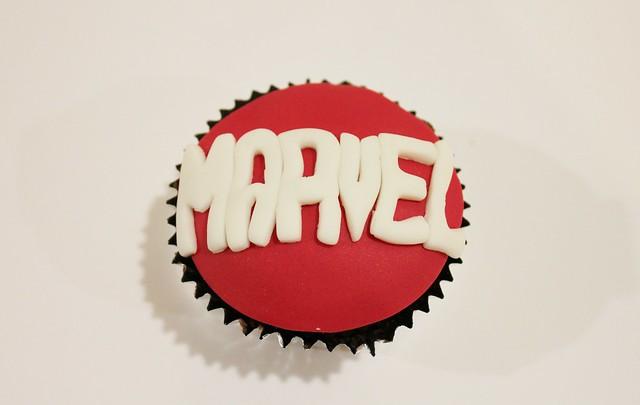 Marvel Cupcake