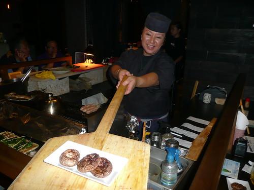 居酒屋『心 』Shinn 椎茸の塩焼き