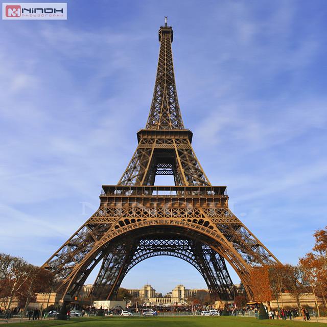 Paris Eiffel Tower Cartoon