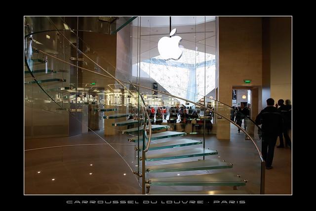 Apple Store Carrousel Du Louvre Paris France