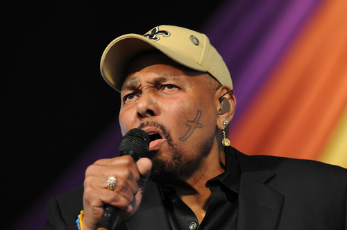 Aaron Neville. Photo by Leon Morris.