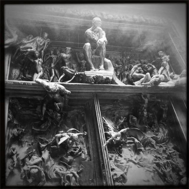 La puerta del infierno de rodin flickr photo sharing for 9 puertas del infierno