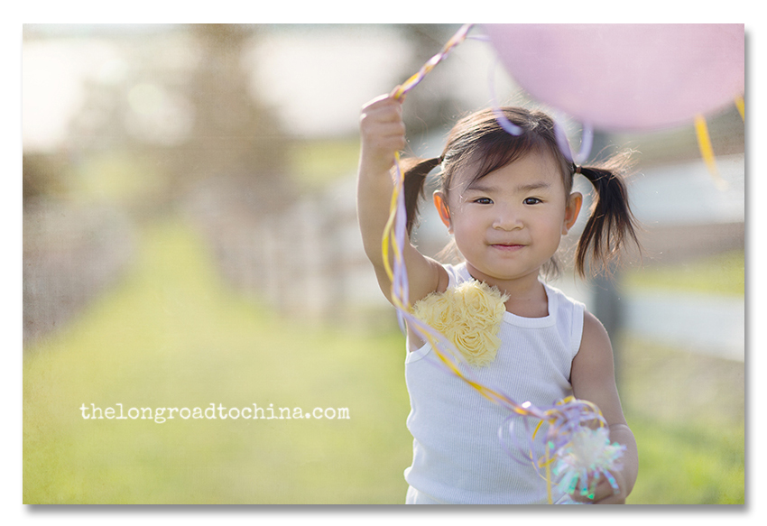 Holding on to those balloons for dear life BLOG