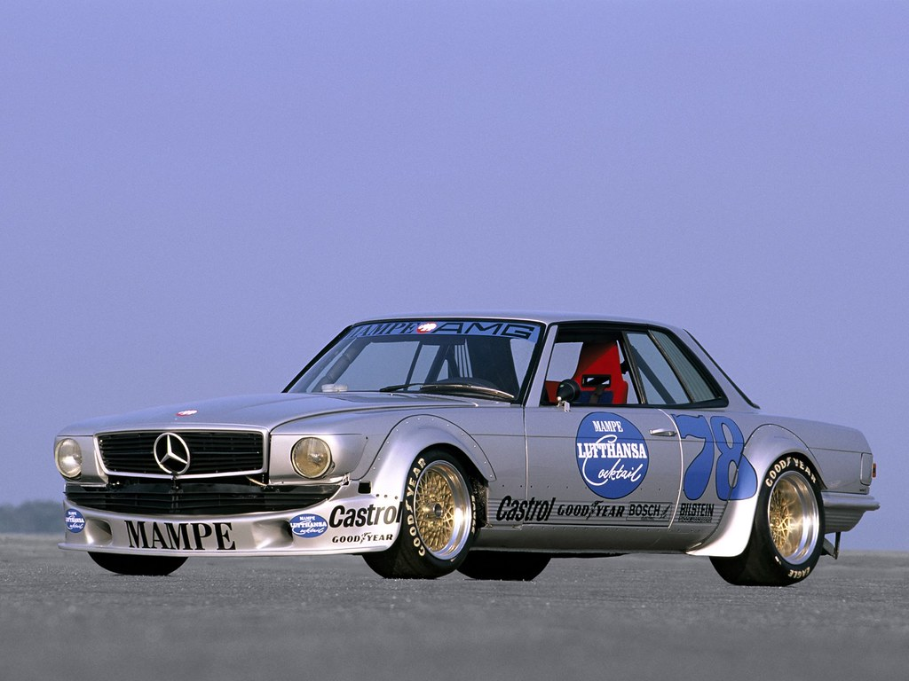 The amazo effect 1978 amg mercedes benz 450 slc amg mampe for Mercedes benz race cars