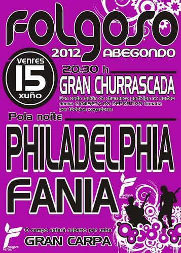 Abegondo 2012 - Festas de Folgoso - cartel