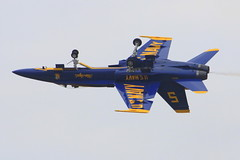 2012 Smyrna Air Show: Blue Angels Inverted Flight