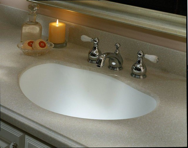 Dupont corian in savannah with corian 835 sink flickr Corian bathroom sinks and countertops