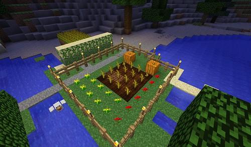 my minecraft garden - Minecraft Garden