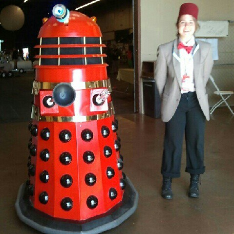 Dalek & The 11th Doctor by Jodi K.
