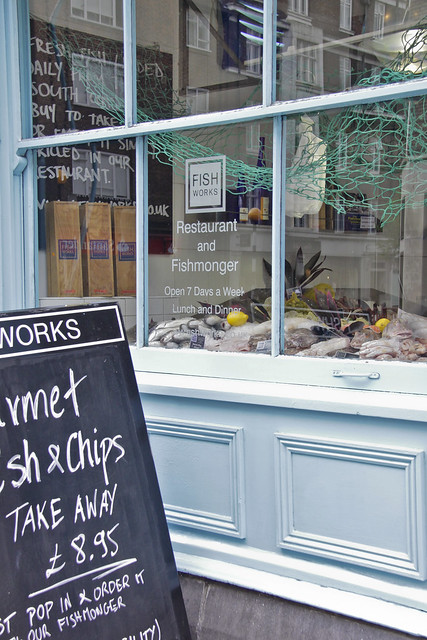 Marylebone High Street - fish manger