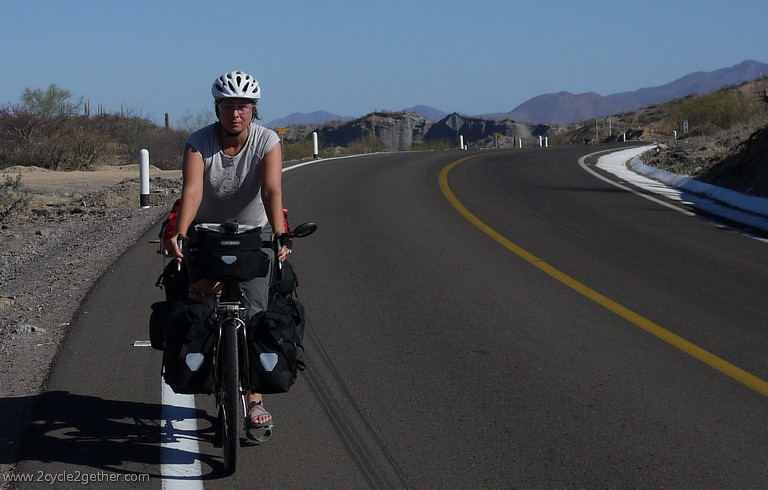 Sheila, Cycling toward Loreto