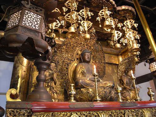 快慶作の阿弥陀如来像のおわす『安養寺』@田原本町