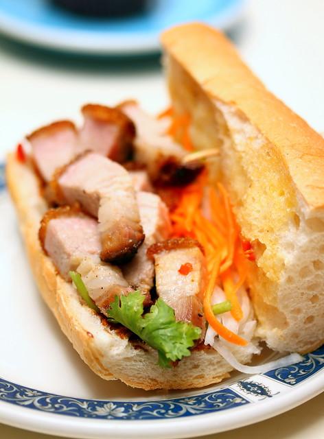 Stranger's Reunion Roast Pork Baguette