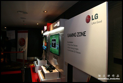 Gaming Zone - That's a fun place for all the bloggers to enjoy gaming on the LG CINEMA 3D Smart TV
