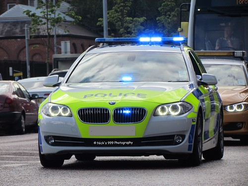 PSNI Demo / BMW 5 Series / Roads Policing Unit