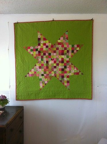Made in Cherry Lime quilt