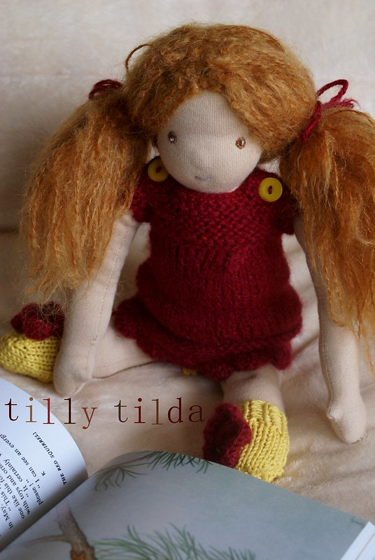 little organic waldorf doll