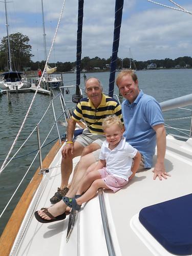 Moe, Michael, Clyde Boat
